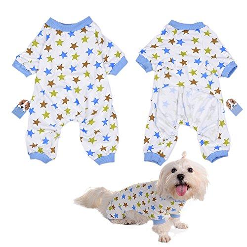 atze kleidet Overalls Freizeit-Abnutzung vier-Füße Haustier Kleidung (Kostüme Für Französische Bulldoggen)