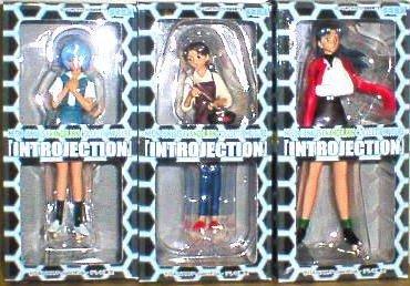 Neon Genesis Evangelion Collection Figure intro bijection all three set (japan import)