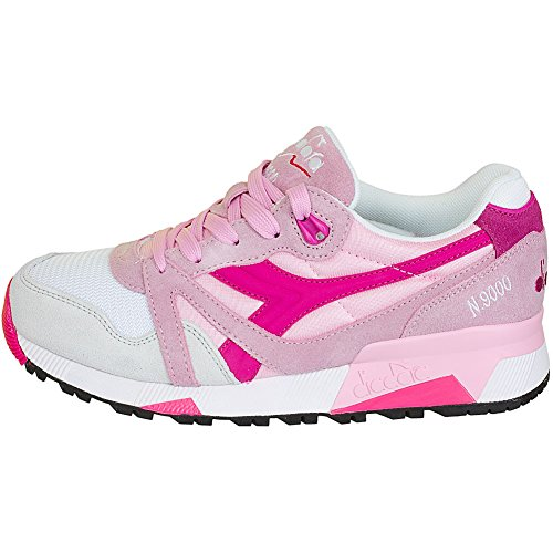 Diadora Damen Sneaker N9000 NYL rosa Weiß/Rosa