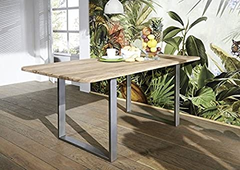 Table Bois Massif - Sheesham Table de salle à manger 200x100cm
