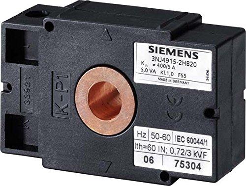SIEMENS - TRANSFORMADOR INTENSIDAD 500/5A CLASE 0 5 TAMAñO NH1-3