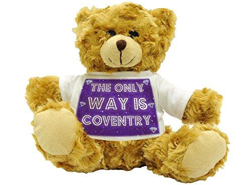 The only Way Is Coventry–Plüsch Teddy Bär (Höhe ca. 22cm) (Coventry Bar)