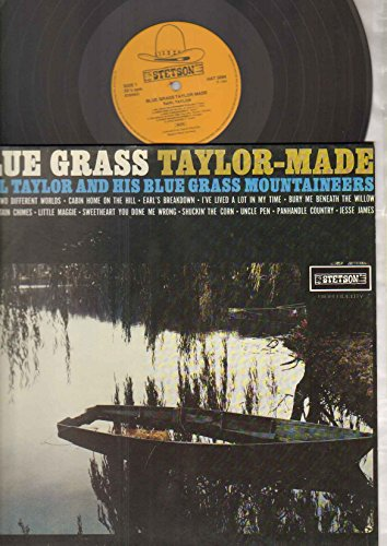 Earl Taylor - Blue Grass Taylor Made - LP vinyl