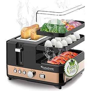 Amazon.de: 2 Scheiben Toaster - Breakfast-Line 3in1 - mit