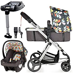 Cosatto Giggle Mix pram and Pushchair Nordik with car seat Base & raincover   3