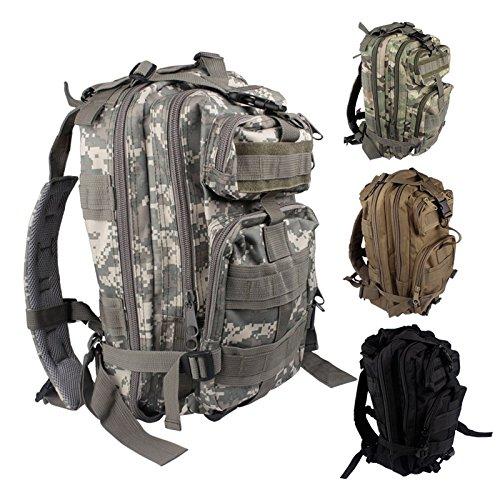 Hrph 30L Outdoor-Militär taktischer Rucksack Rucksäcke Camping Wandern Trekking-Tasche Black