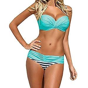 Tuopuda Bikini Donna Mare Costumi da Bagno Push up Imbottito Sexy Spiaggia Beachwear 8 spesavip