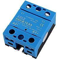 sourcingmap® ASH-B10AA 50-280VAC a AC Relé 480VAC 10A monofásico de estado sólido para el relé CA