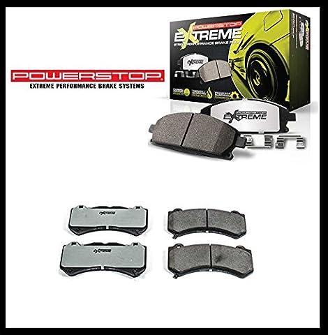Avant haute performance pour frein Ceramic/carbone Camaro 12–16, Challenger 15–16, charger 2015, grand CHEROKEE SRT 11–16avec 380mm disque de frein de diamètre)