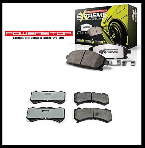 Anteriore Premium Performance Pastiglie freno Ceramic/Carbon Camaro 12-16, Challenger 15-16, Charger 2015, Grand Cherokee SRT Disco freno 11-16con 380mm diametro)