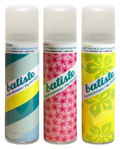 Batiste Dry Shampoo 50ml (3er Pack 2+1)