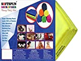 #7: SOFTSPUN Microfiber Car Cleaning,Detailing & Polishing Cloth - 40X60 Cms - Yellow (3)