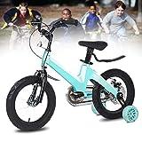 Q&J Vélo d'enfant sécuritaire en Alliage de magnésium avec Roues de Support avec...