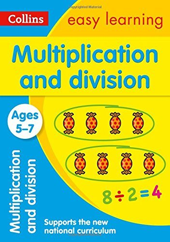 Multiplication and Division Ages 5-7: New Edition (Collins Easy Learning KS1) by Collins Easy Learning (2015-06-26)