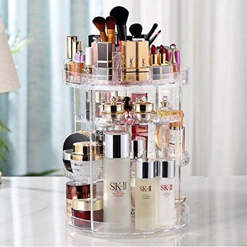 LIUYU Rotierende Make-Up-Organiz...