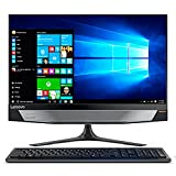 Lenovo Ideacentre AIO 720-24IKB Desktop All-In-One con Display da 23.8 FullHD TOUCH, Processore Intel Core I5-7400, RAM 8 GB, 1TB HDD, Scheda Grafica Nvidia GTX 960, S.O. W10 Home, Nero
