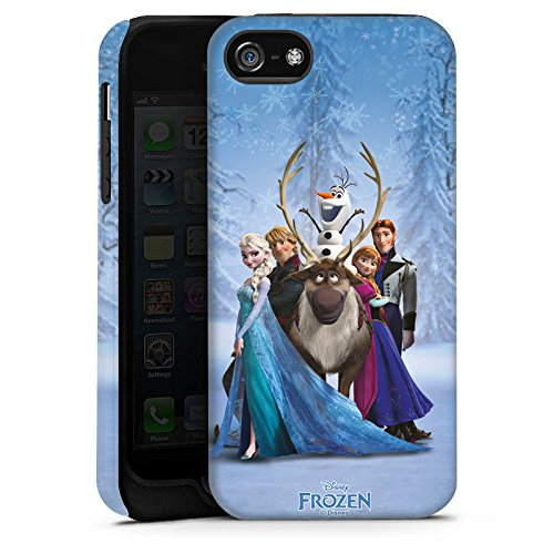 Apple iPhone X Silikon Hülle Case Schutzhülle Disney Frozen Geschenke Fanartikel Tough Case matt