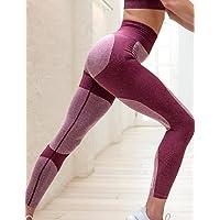 TT&NIUZAIKU Mujer Medio Un Color Licra Un Color Legging, Gris Morado, Purple, XL