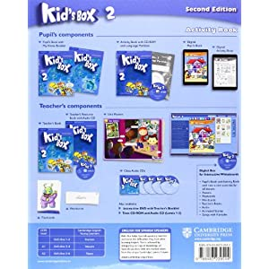 Kid's Box for Spanish Speakers Level 2 Activity Book with CD-ROM and Language Portfolio Second Edition