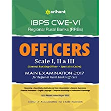 IBPS-CWE VI Regional Rural Banks Officers 2017