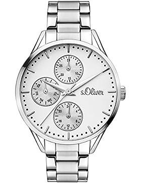 s.Oliver Time Damen-Armbanduhr SO-3348-MM