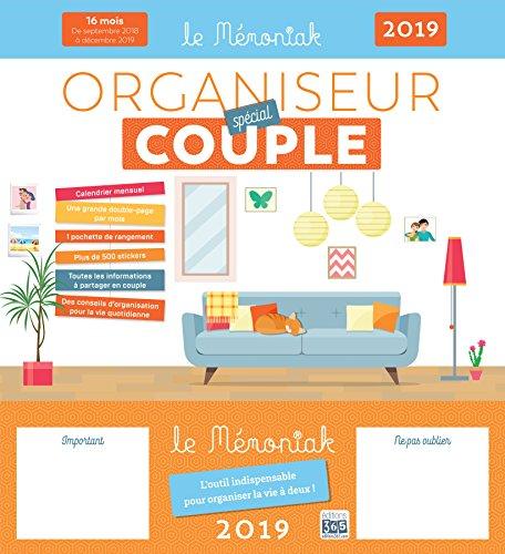Organiseur Mémoniak spécial Couple 2018-2019 par Collectif