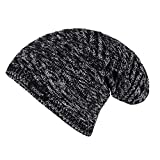 #5: Noise NOICAPWNTR021 Textured Slouchy Polyester Beanie, Free Size (Black)