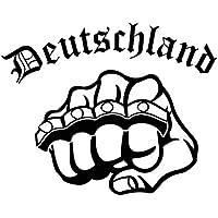 Deutschland Auto Aufkleber Wandtattoo Schlagring Knuckle