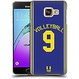 Head Case Designs Volley Jersey Sportif Étui Coque D'Arrière Rigide Pour Samsung Galaxy A3 (2016)