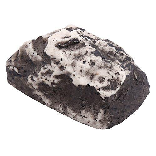Schlüsselbox, Verstecken Key Rock Verbergen Stone für Outdoor-Garten oder Hof, Geocaching