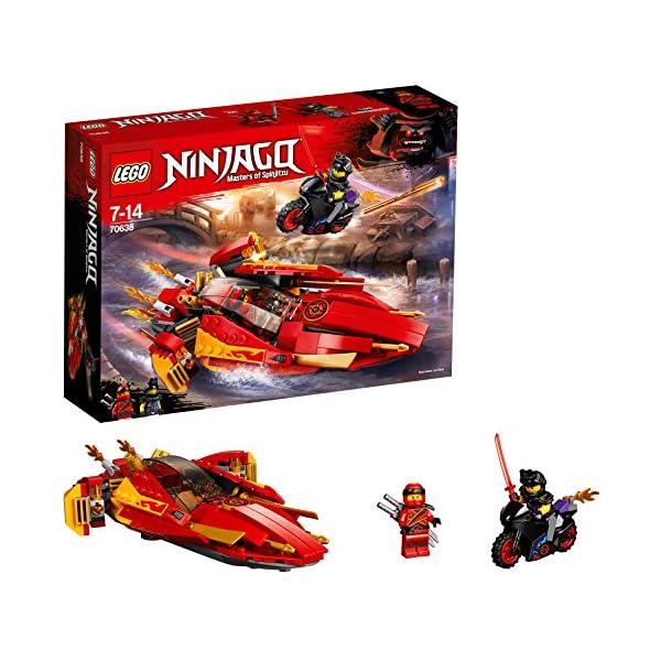LEGO- Ninjago Katana V, Multicolore, 70638 1 spesavip