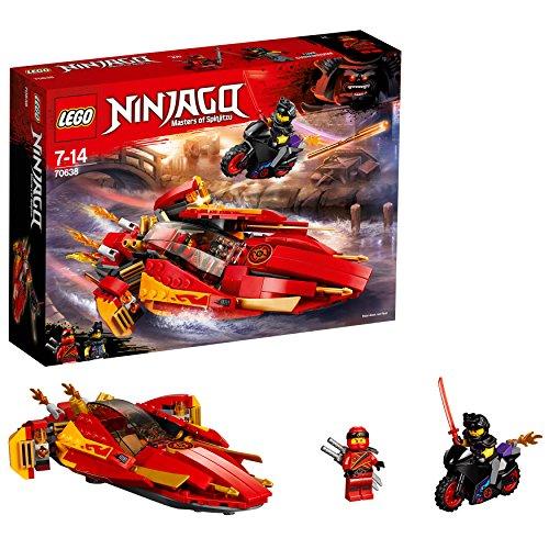 LEGO Ninjago - Le bateau Katana V11 - 70638 - Jeu de Construction