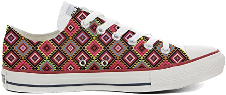 Converse All Star Zapatos Personalizados (Producto Artesano) African Texture  -