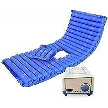 XUAN Colchón de presión alterna - incluye bomba eléctrica y colchón de almohadilla almohadilla de cama inflable para la úlcera de presión y el tratamiento de dolor de presión , b