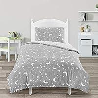 Utopia Bedding Kids Bedding Set - Duvet Cover & Pillowcase - Reversible Duvet Cover Set