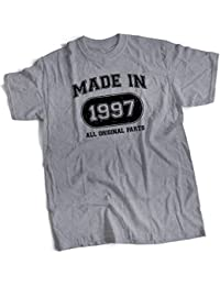 bybulldog Made In 1997 Aged To Perfection 21st Birthday Present Mens Premium T-Shirt Choice Of 12 Colours In Sizes Small To 3X Large