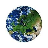 Preis am Stiel 1x Wanduhr ''Earth'' | Modern | Erde | Planet| Astronom