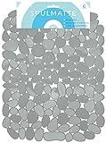Circul Spülmatte 40 x 31 cm grau Steinoptik