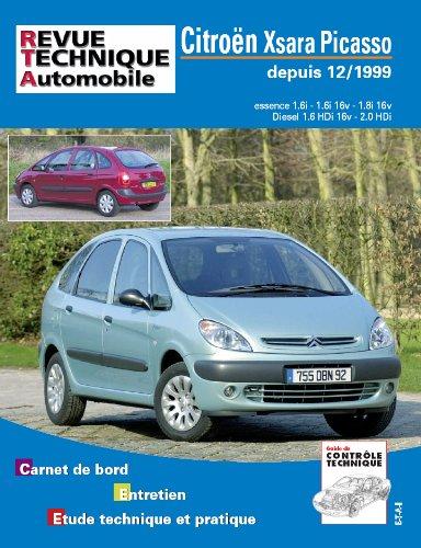 Revue Technique Automobile Xsara Picasso Essence et Diesel (12/1999>) par Etai
