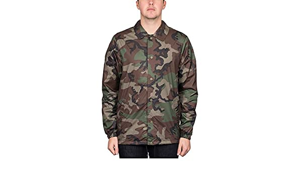 535ff1823be8 Nike SB Shield Icon Erdl  Coaches Jacket. Medium Olive Black.   Amazon.co.uk  Clothing