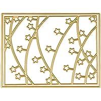 DIPOLA Plantillas de Metal para Troquelar,Álbum de Fotos,Decoración,Diseño de Estrellas