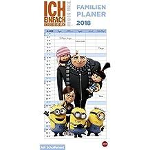 Minions Familienplaner - Kalender 2018