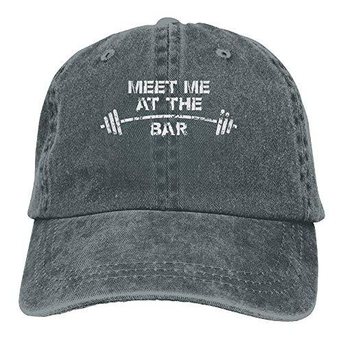 Speichern Sie die Handbücher DREI Pedale 6-Gang-Getriebe Unisex einstellbare Baumwolle Denim Hut gewaschen Retro Gym Hut