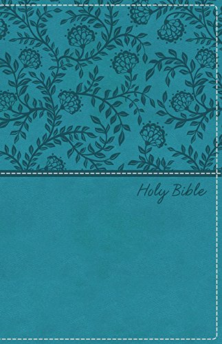 KJV, Deluxe Gift Bible, Leathersoft, Blue, Red Letter Edition, Comfort Print: Holy...