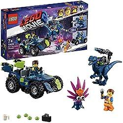 Lego Movie 2 il Fuoristrada Tremo di Rex Gioco per Bambini, Colore Vari, 70826
