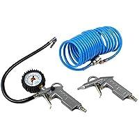 ECD Germany Kit Accessori Pneumatici con Pistola