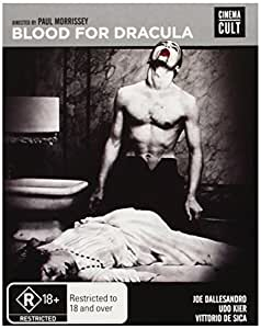 Blood for Dracula [Blu-ray] [Import anglais]