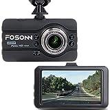 Dashboard Kamera, fosonn Dash Cam HD 1080P 170° Weitwinkel Auto Video Recorder mit...