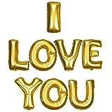Cadeaux Store - Ballon I LOVE YOUJe t'aime gonflable 40cm Dor'