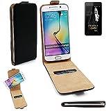 K-S-Trade Für FANTEC Limbo Flipstyle Schutz Hülle 360° Smartphone Tasche, schwarz, Case Flip Cover für FANTEC Limbo